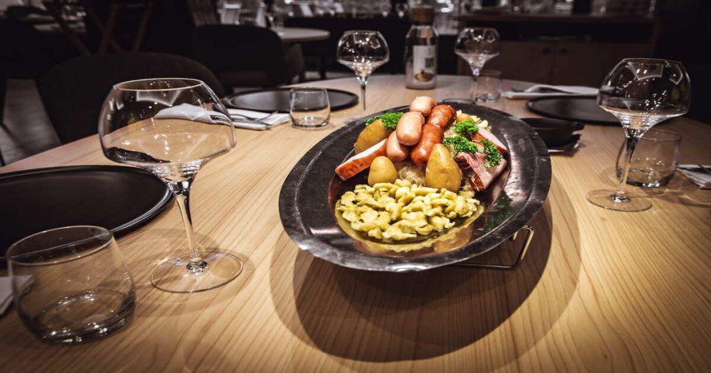 Brasserie K réinvente sa carte